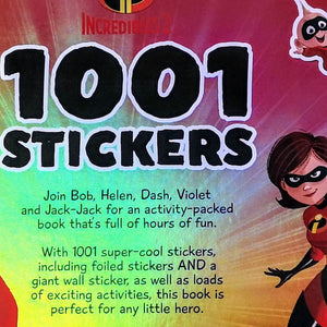 1001 Stickers: The Incredibles