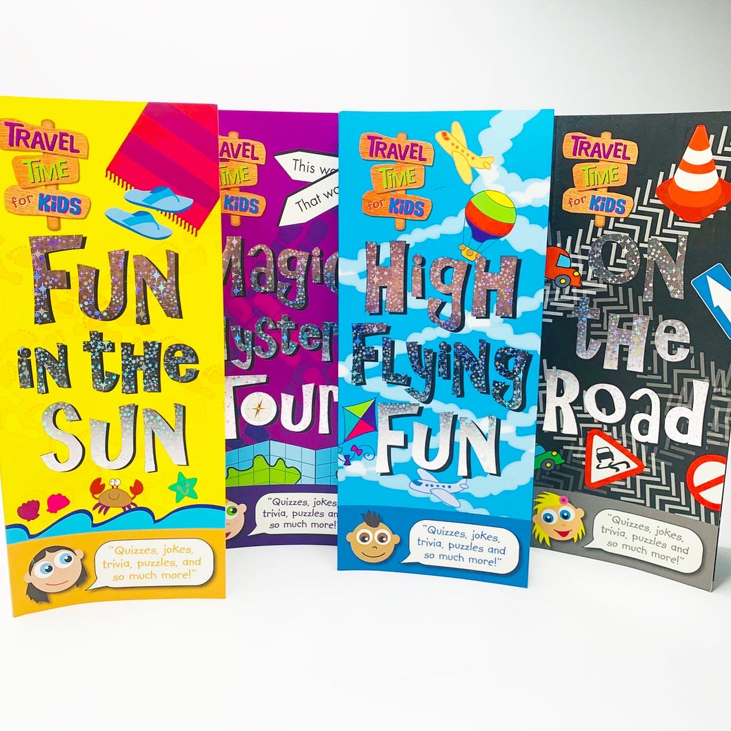 Summer Travel Time for Kids (4 Book Bundle)