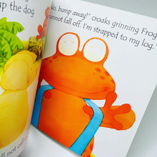 Load image into Gallery viewer, Usborne Phonics Readers: Frog on a Log