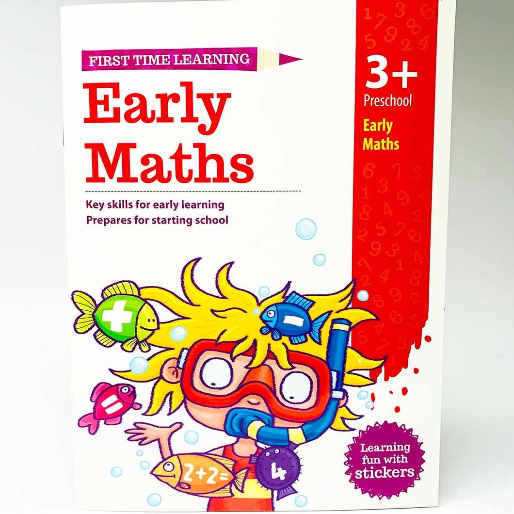 First Time Learning: Early Maths (3+)