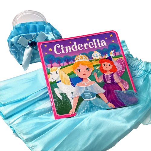 Cinderella: Dress-up and play book