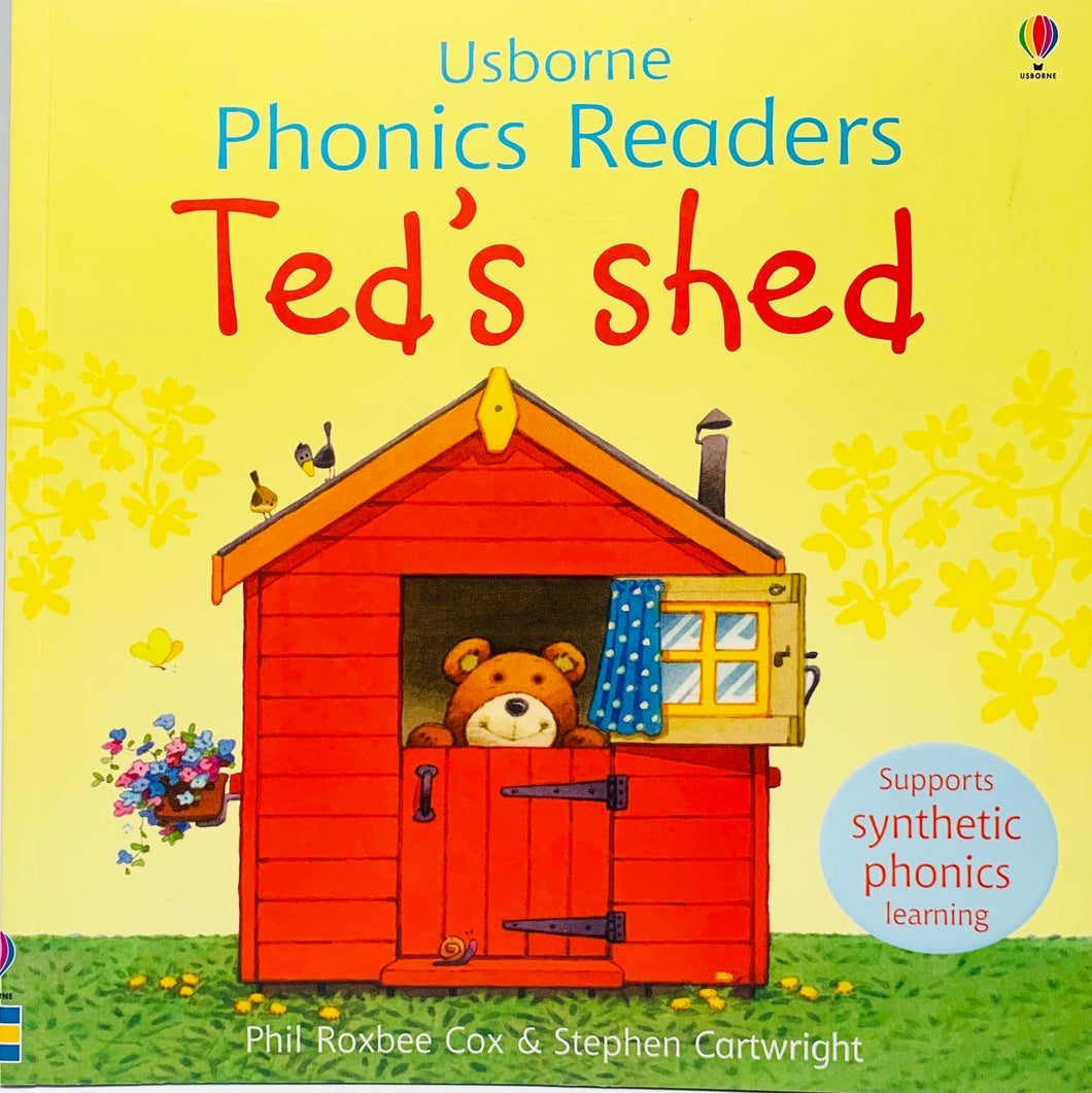 Usborne Phonics Readers: Ted's Shed