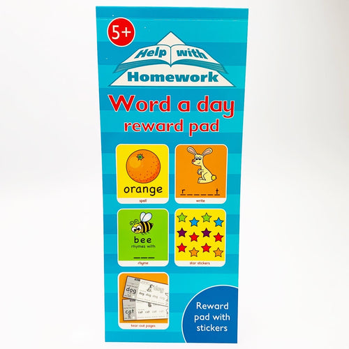 Help With Homework: Word a Day Reward Pad (Ages 5+)
