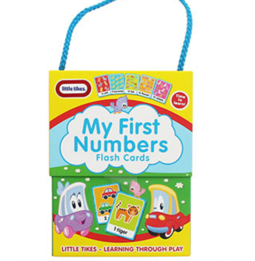 Little Tikes Flashcards: My First Numbers