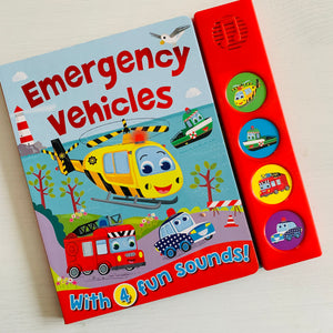 Emergency Vehicles with 4 Fun Sounds!