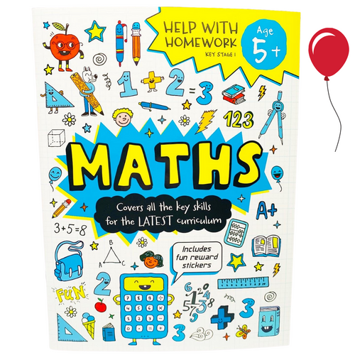 First Time Learning: Maths KS1 (Age 5+)