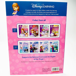 Disney Learning: Sofia the First: Reading and Comprehension Learning Workbook (Ages 5-6)