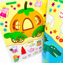 Load image into Gallery viewer, Peppa Pig Fairy Tales! Sticker Book