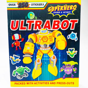 Ultrabot Sticker and Activity Adventure