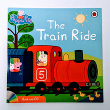 Load image into Gallery viewer, Peppa Pig: The Train Ride Book & CD