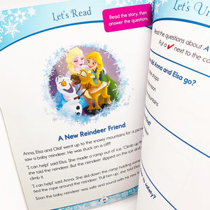 Disney Learning: Frozen Reading and Comprehension (Ages 6-7)