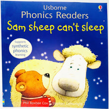 Load image into Gallery viewer, Usborne Phonics Readers: Sam Sheep Can't Sleep