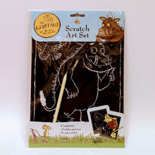 Load image into Gallery viewer, The Gruffalo Scratch Art Set
