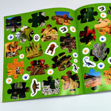 Load image into Gallery viewer, Dinosaur Sticker Jigsaw Book