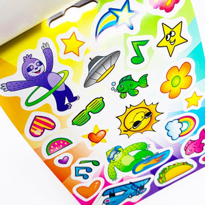 Crayola Sticker Activity Pack: Sloths Love Llamas