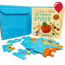 Load image into Gallery viewer, Incy Wincy Spider Jigsaw Puzzle & Book
