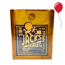 Load image into Gallery viewer, Vintage Wooden Classic Jacks & Osselets Game