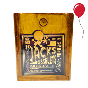 Vintage Wooden Classic Jacks & Osselets Game