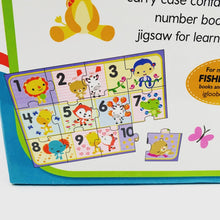 Load image into Gallery viewer, Fisher Price My First 123 Book and Jigsaw