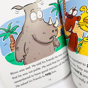 Behaviour Matters: Rhino Learns to be Polite: A book about good manners