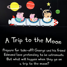Load image into Gallery viewer, Peppa Pig: A Trip to the Moon Book & CD