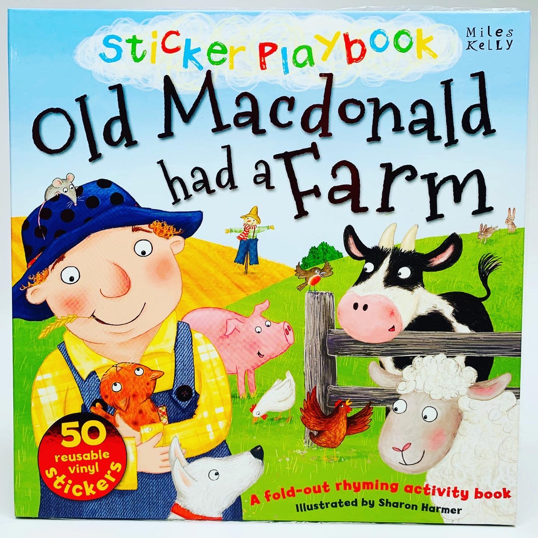Old Macdonald Had a Farm: Sticker Playbook