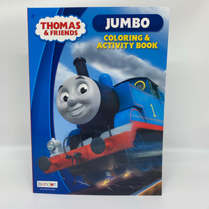 Thomas & Friends Jumbo Colouring and Activity Book