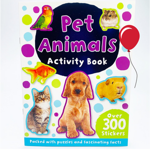 Pet Animals Activity and Sticker Book