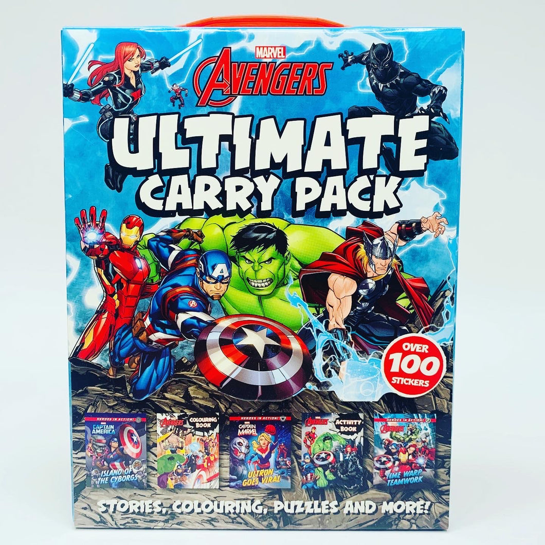 Marvel Avengers: Ultimate Mini Book Carry Pack