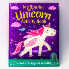 Load image into Gallery viewer, Racing Unicorns and Activity Book
