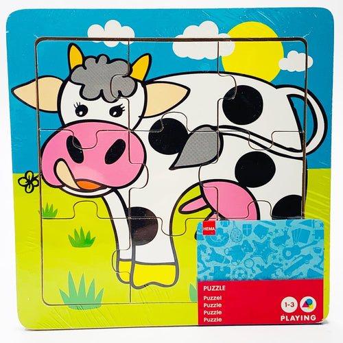 Funny Cow Puzzle