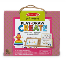 Load image into Gallery viewer, Melissa and Doug: Reusable Drawing and Magnet Kit Princess (Play Draw Create)
