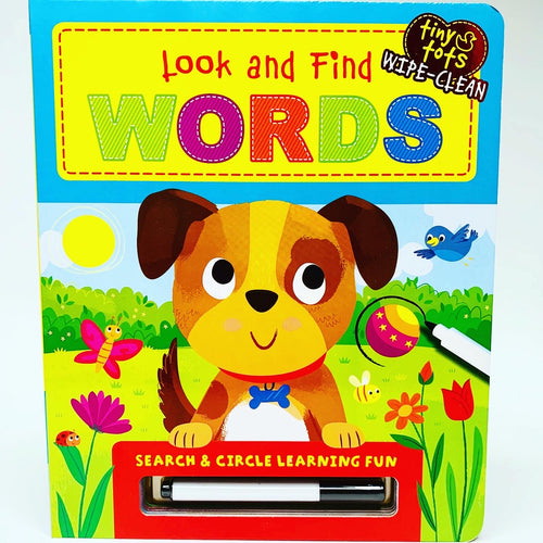 Tiny Tots Wipe Clean: Look and Find Words