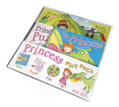 Princess Puzzle Play Pack: Read, Puzzle, Play!