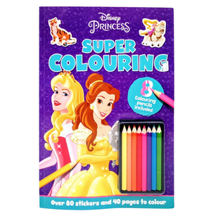 Disney Princess Super Colouring