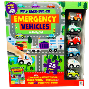 Emergency Vehicles Activity Set