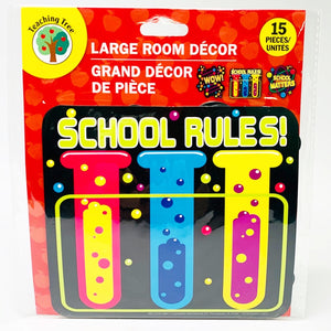 Teaching Tree: School Rules Science Theme Large Room Decor