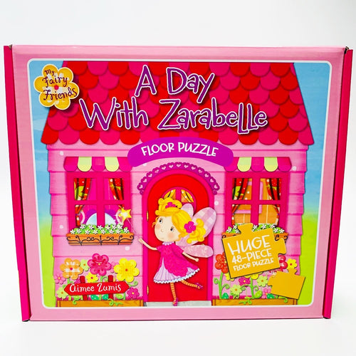 My Fairy Friends: A Day with Zarabelle Floor Puzzle