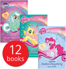 My Little Pony 12 Book Collection