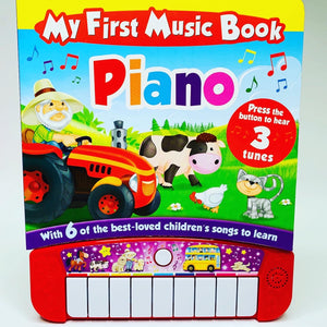 My First Music Book Piano