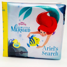 Load image into Gallery viewer, Disney Princess The Little Mermaid: Ariel's Search Bath Book