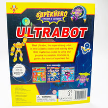 Load image into Gallery viewer, Ultrabot Sticker and Activity Adventure