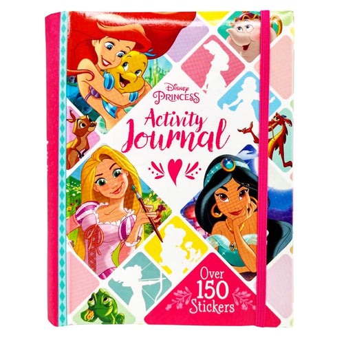 Disney Princess Activity Journal