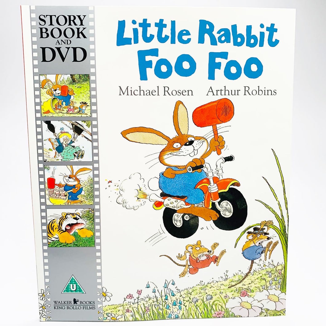 Little Rabbit Foo Foo: Book & DVD