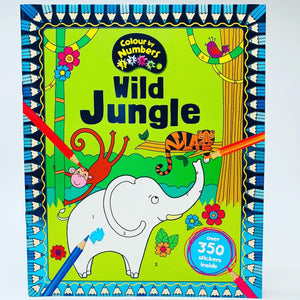 Colour by Numbers: Wild Jungle