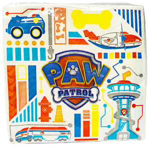 Paw Patrol Paper Napkins (16 count)