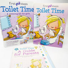 Load image into Gallery viewer, Toilet Time: A Training Kit for Girls