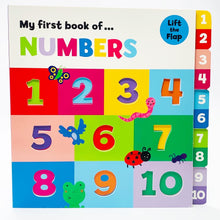 Load image into Gallery viewer, My First Book of...Numbers