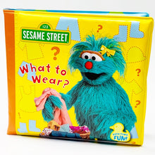 Load image into Gallery viewer, Sesame Street: What to Wear? Bath Book