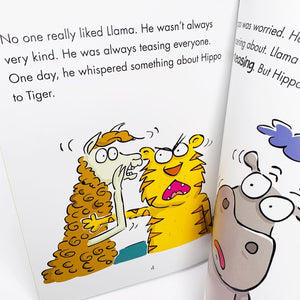 Behaviour Matters: Llama Stops Teasing: A book about making fun of others